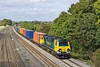 22nd Sep 11:  70001 at Lower Basildon heading 4O49 from Crewe Basford hall to Southampton