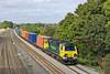 22nd Sep 11:  70001 at Lower Basildon heading 4O49 from Crewe Basford hall to Southampton