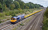 5th Sep 11:  In the new Europorte livery 66731 is seen at Twyford in charge of the Bow to Appleford loaded spoil service.  5 seconds later this view was in full sun !