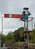 26th Sep 11:  The westbound platform starter  at Pevensey & Westham