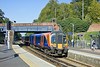 28th Sep 11:  450561 enters platform 4 at Virginia Water while working 2S37 the 13.22 from Waterloo to Weybridge