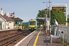 9th Aug 12: Passing over the level crossing at Berwick is 171729 working the 15.32 from Ashford to Brighton