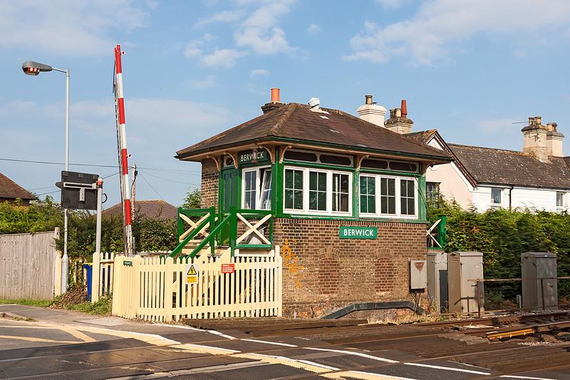 9th Aug 12:  Berwick Signal Box