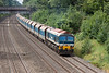 6th Aug 12:  59102 on the point of 7A09 from Merehead to Acton, taken from the Duffield Road bridge in the Sonning Cutting