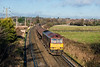 5th Dec 12:  60049 provides a rare treat on the Alton Line as it was rostered  to head 6Y32 the 08.24 from Fawley to the Holybourne oil terminal near Alton.  Captured here at Badshot Lea