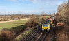 15th Dec 12:  Rounding the curve at Silchester is 70020 working 4O27 from Garston to Southampton