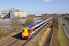 25th Feb 12L  458021 leaves Bracknel with the 11.50 Waterloo to Reading