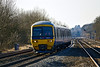 3rd Feb 12:  Racing to Paddington on the Main Lne is 166211 working the 11.51 from Moreton in Marsh (1P43)