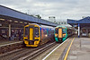 12th Jan 12:  158960 working to Cardiff waits beside 377143 forming 1C61 to Victoria at Southampton Central