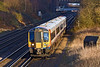 26th Jan 12:  Potterering down the slow line is 444001 on the 14.39 semi fast to Brockenhurst