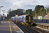 12th Jan 12:  FGW 158959 enters Southampton with the 10.50 from Great Malvern to Brighton