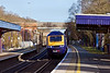 17th Jan 12:  The 12.30 from Paddington to Bristol Temple Meads hurtles through platform 1 at Twyford