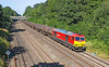 22nd Jul 12:  My first picture of 60059 'Swinden Dalesman'  in DB Schenker red as she trots through the Sonning Cutting while working the Sunday's as required loaded oil from Didcot to Colnbrook (6A70).  This had started from Lindsey on Saturday afternoon and stayed over night at Didcot.