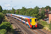 30th Jul 12:  Junipers 458010 and 8019 at Egham formimg the 08.42 from Reading to Waterloo (2C22)
