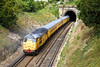 5th Jul 12:  As 31233 enters the 107 yard Kingston tunnel at Lewes 31602 is seen on the rear of 1Q14