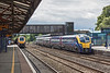 19th Jul 12:  Newly refurbished Adelante 180108 calls at Oxford on a service to Worcester