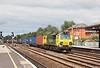19th Jul 12:  70009 heading to Southampton screams through Oxford while working  4O27 the 05.40 from Garston
