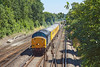 23rd Jul 12:  Charging towards Farnborough are 37604 TnT 37603 on 1Q14 from Derby to Eastleigh