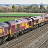 20th Mar12 Scottisg 67011 is in the consist of 6V27 departmental from Easstleigh to Hinksey.  Behind are Euro sheds 66226 and 66033