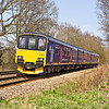 23rd Mar 12:  150002 at Great Park Cossing working 2L35 the 13.07 from Reading to Basingstoke
