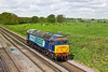 16th May 12:  Running as 0Z31 58009 trots along the Slow line between Hook and Winchfield travelling from Eastleigh to Wembley