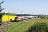 22nd May 12:  Running through thr Northamptonshire countryside is 390047 on 1H35 the 16.00 Euston to Manchester Piccadilly