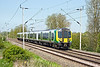 22nd May 12:  350265 nearing Long Buckby working 2Y62 the 12.33 Birmingham to Euston