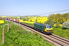 22nd May 12:  90046 works 4L75 fron Crewe Basford Hall to Felixstowe at Church Brampton