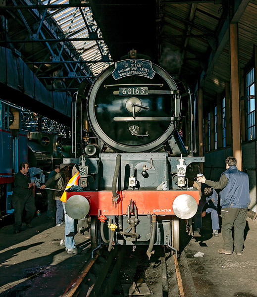 25th Nov 12:  Tornado getting cleaned after Saturday's tour to Shrewsbury