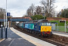 22nd Nov 12:  47501 'Craftsman' takes the Chertsey line at Virginia Water with 5Z30 taking 7 Mk 2 coaches to Eastleigh from Crewe