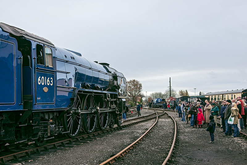 25th Nov 12:  Tornado posed for the Covenanters to view the new livery
