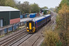 24th Oct 12:  158951 runs west past the site of Coalpit Heath Station AKA Ram Hill with 2C38 from Bristol Temple Meads to Worcester Shrub Hill