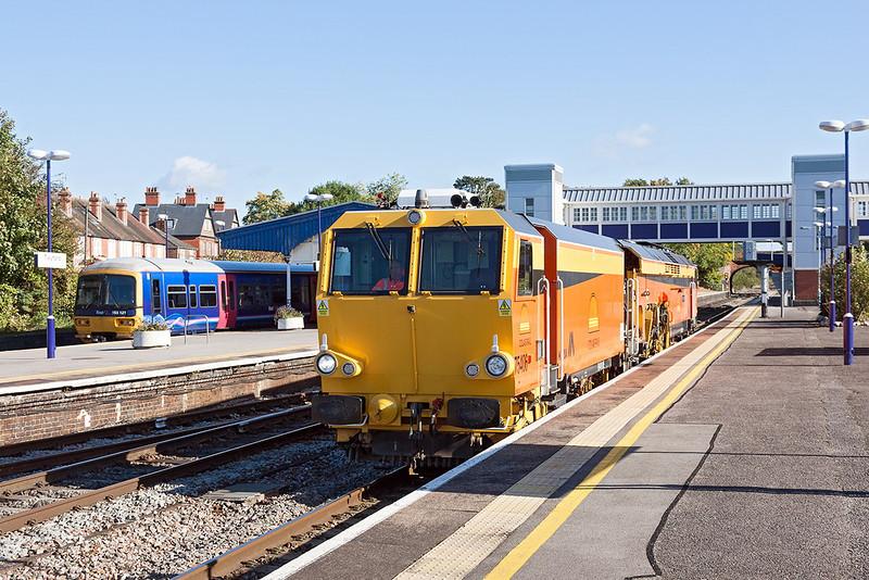 12th Oct 12:  Colas Tamper 75406 westbound through Tywford