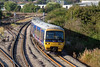 5th Sep 12:  The 06.57 from Paddington to Oxford (2N12)  gets away from Didcot