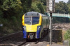 25th Sep 12:  The 09.54 from Great Malvern in the hands of 180104 races through Tilhurst