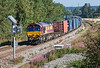5th Sep 12:  Nearing Didcot North Junction is 66126 working the Wakefield Europort to Southampton Intermodal (4O53)