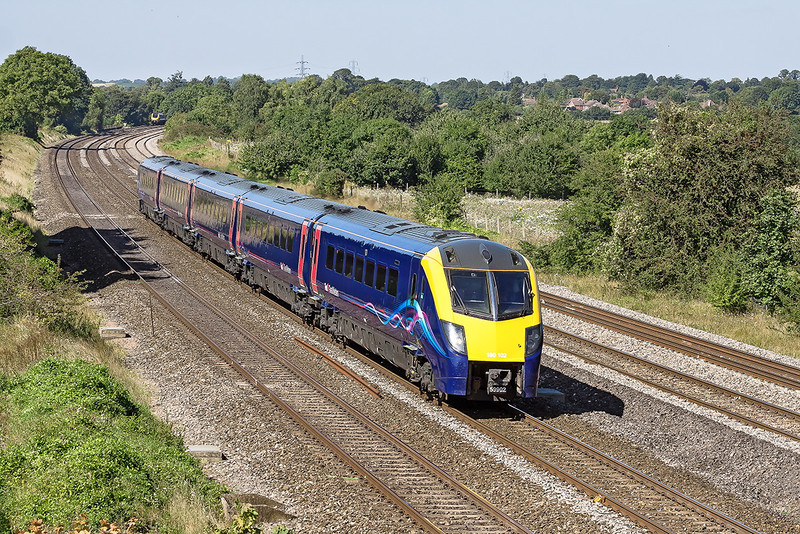 5th Sep 12:  180102 returns from Worcester Foregate Street with the 12.06 to Paddington.  The location is Lower Basildon