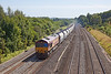 5th Sep 12:  The Hayes to Moreton on Lugg empties trot through Lower Basaidon behind 66113
