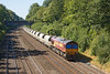 7th Sep 12:  Returning the sand empties from Theale to Acton by 6A69 is 66113.  Captured in the Sonning Cutting