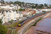 15th Sep 12:  Cross Country HST 43376 forming 1V42 the 06.10 from Derby to Plymouth  is pictured at Dawlish