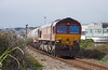 12th Sep 12:  Now with  the empties 66130 departs from Long Rock