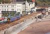 15th Sep 12:  153329 slows for the Dawlish stop while working 2E19 the 11.35 from Paignton to Exeter St Davids