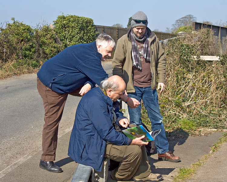 27th Mar 12:  Chris N and Richard L at Portskewett are admiring Chris Ps new book. A cracker it certainly is