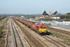 27th Mar 12:  The mornings 6B13 Murco tanks to Westerleigh is captured again as it runs through Severn Tunnel Junction