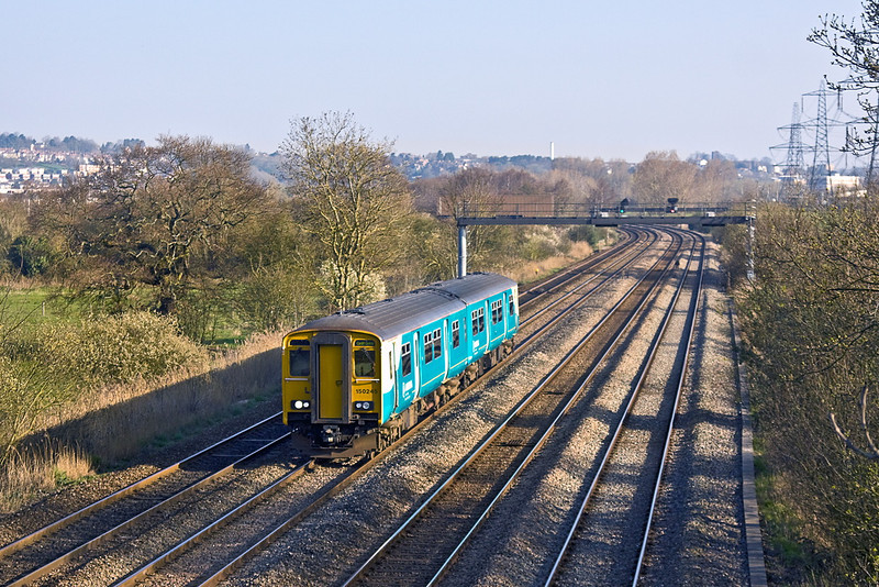 27th Mar 12:  160245 at Duffryn working a service to Cardiff