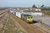 27th Mar 12:  66516 makes for the tunnel as it works the Wentloog to Southamptonn Freightliner