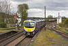 26th Apr 12:  185108 arrives at Barnetby on an afternoon Cleethorpes to Manchester Airport service
