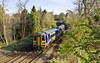 20th Apr 12:  Running into Harrogate is 158861 at the head of 2C48 the 16.59 from Leeds to Knaresborough