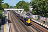 27th May 13:  Captured running through Anerley is 377505 leading on 2T43 the 13.27 from Bedford to Brighton