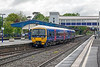 24th May 13:  The 08.04 from Reading to Henley, with the driver having changed ends, leaves Platform 4 at Twyford in the hands of 165129.  It will then form the Henley to Twyford shuttle during the day
